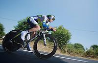 Simon Clarke (AUS)<br /> <br /> Tour de France 2013<br /> stage 11: iTT Avranches - Mont Saint-Michel <br /> 33km