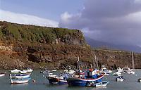 Hafen von Tazacortes, La Palma, Kanarische Inseln, Spanien