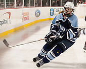 Lauren Helm (CC - 7) - The Babson College Polar Bears defeated the Connecticut College Camels 3-0 on Thursday, January 12, 2017, at Fenway Park in Boston, Massachusetts.