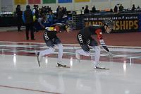 SPEEDSKATING: 13-02-2020, Utah Olympic Oval, ISU World Single Distances Speed Skating Championship, Team Sprint Men, Team CHN, ©Martin de Jong
