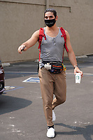 Alan Bersten Rocks Old School Fanny Pack To Dancing With The Stars Rehearsal In Hollywood