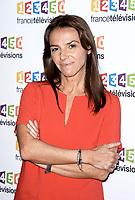 Photocall de la conference de presse de France Télévisions - Sophie Le Saint