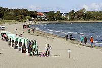 Strand in Boltenhagen, Mecklenburg-Vorpommern, Deutschland