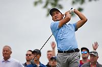 4th June 2021; Dublin, Ohio, USA; Tekumi Kanaya (JPN) watches his tee shot on 11 during the Memorial Tournament Rd2 at Muirfield Village Golf Club on June 4, 2021 in Dublin, Ohio.