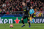Juventus' Miralem Pjanic during UEFA Champions League match, Round of 16, 1st leg between Atletico de Madrid and Juventus at Wanda Metropolitano Stadium in Madrid, Spain. February 20, 2019. (ALTERPHOTOS/A. Perez Meca)