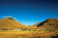 Sgurr an Fhuarail above the Cluanie Inn, Glen Shiel; Skye & Lochalsh, Highland