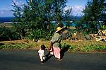 scènes de vie quotidienne a Rodrigues