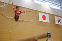 Artistic Gymnastics : Japan women's national team training session