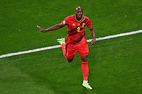 ST PETERSBURG, RUSSIA - JUNE 12 :  Romelu Lukaku forward of Belgium celebrates scoring a goal pictured during the 16th UEFA Euro 2020 Championship Group B match between Belgium and Russia on June 12, 2021 in St Petersburg, Russia, 12/06/2021 <br /> Photo Photonews / Panoramic / Insidefoto <br /> ITALY ONLY