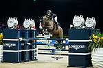 Reed Kessler of the USA riding KS Stakki competes in the Longines Speed Challenge during the Longines Masters of Hong Kong at AsiaWorld-Expo on 10 February 2018, in Hong Kong, Hong Kong. Photo by Ian Walton / Power Sport Images