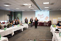 BNI Minnesota's Team G held its bi-monthly meeting of 2017 Friday, March 31 at the Ridgedale Library in Minnetonka, MN. Longtime MN BNI veteran Ben Olson said goodbye - his loyal supporters and fans and friends alike were on hand to thank him for his passion and pressence in the group. He will be missed dearly. The group represents the bulk of BNI leadership with its director consultants, ambassadors and area directors of the Minnesota and Wisconsin regions on hand discussing region health and strategies to improve individual chapters throughout the region and help get more members involved, and more active in their BNI experience.