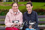 Enjoying a coffee and a chat in the Killarney National Park on Monday, l to r: Chloe Goulding and Aine O'Riordan.