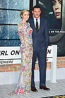 "Emily Blunt and Luke Evans<br /> at the premiere of ""The Girl on the Train"", Odeon Leicester Square, London.<br /> <br /> <br /> ©Ash Knotek  D3156  20/09/2016"