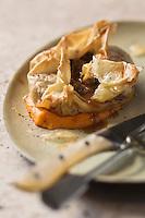 Croustillant d'agneau du Quercy à la mousseline de carottes - recette de Christian Constant  EXCLU: EDITION LIVRE CUISINE DU SUD-OUEST