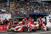 2017 Verizon IndyCar Series - Firestone Grand Prix of St. Petersburg<br /> St. Petersburg, FL USA<br /> Sunday 12 March 2017<br /> Marco Andretti pit stop<br /> World Copyright:Sam Cobb/LAT Images<br /> ref: Digital Image cobb-stpete-170312-4454