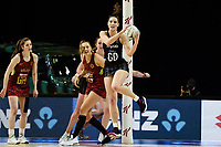 24th September 2021: Christchurch, New Zealand;  Karin Burger of the Silver Ferns during the third Cadbury Netball Series/Taini Jamison Trophy, New Zealand Silver Ferns versus England Roses, Christchurch Arena, Christchurch, New Zealand