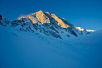 Sunrise on Grand Jorasses, French Alps
