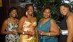 Cynthia Alex, Tamera Davis, Vanessa Sinnette and Tara Jones at the Houston Area's Urban League Equal Opportunity Day Gala at the Hilton Americas Houston Saturday night June 20, 2009.(Dave Rossman/For the Chronicle)