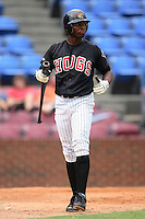 Winston-Salem Warthogs center fielder Sean Smith makes his way back to the dugout after striking out versus the Frederick Keys at Ernie Shore Field in Winston-Salem, NC, Friday, August 4, 2006.  The Warthogs defeated the Keys 3-1.