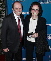 """WESTWOOD, LOS ANGELES, CA, USA - MARCH 22: Bob Newhart, Ginnie Newhart at the Geffen Playhouse's Annual """"Backstage At The Geffen"""" Gala held at Geffen Playhouse on March 22, 2014 in Westwood, Los Angeles, California, United States. (Photo by Xavier Collin/Celebrity Monitor)"""
