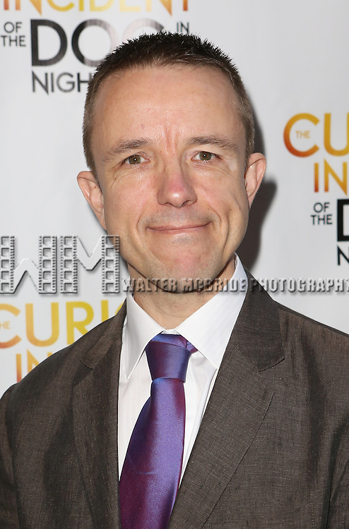 Adrian Sutton attends the Broadway Opening Night Performance of 'The Curious Incident of the Dog in the Night-Time'  at the Barrymore Theatre on October 5, 2014 in New York City.