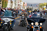 Nevada Veterans of Foreign Wars ride in the annual Nevada Day parade in Carson City, Nev. on Saturday, Oct. 29, 2016. <br />Photo by Cathleen Allison
