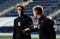 Chester, PA - Friday December 08, 2017: Stanford University during warmups prior to a NCAA Men's College Cup semifinal soccer match between the Stanford Cardinal and the Akron Zips at Talen Energy Stadium.