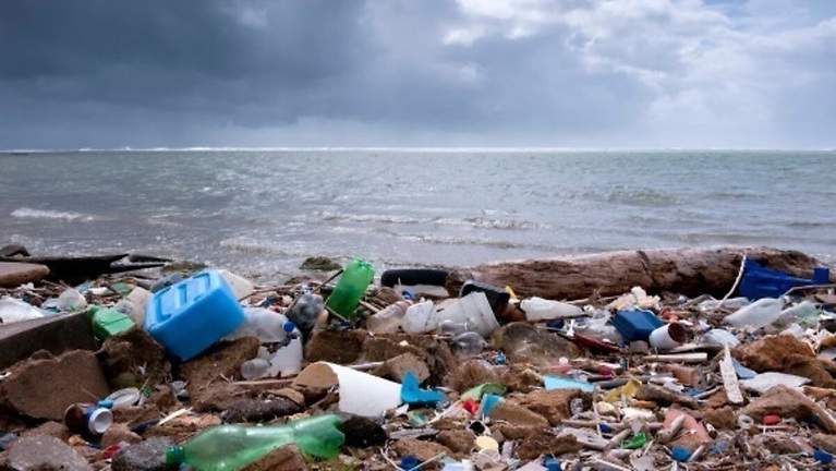 Plastic pollution in our rivers - research has found single-use plastic bottles require UV light to break down over more than 450 years