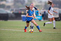 Oceanside, CA - June 23, 2019: U.S. Soccer Development Academy Girl's Showcase at the SoCal Sports Complex.