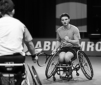 Rotterdam, The Netherlands, 5 march  2021, ABNAMRO World Tennis Tournament, Ahoy,  Quarter final wheelchair: Takashi Sanada (JPN) / Jef Vandorpe (BEL) vs. Martin de la Puente (ESP) / Gustavo Fernandez (ARG). <br /> Photo: www.tennisimages.com/henkkoster