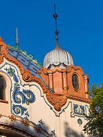 Palast Raichle-Pałac Rajhla, Subotica, Vojvodina, Serbien, Europa<br /> palais Raichle-Pałac Rajhla, Subotica, Vojvodina, Serbia, Europe