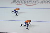 SPEEDSKATING: Calgary, 07-02-2020, ISU World Cup Speed Skating Calgary, 1000m Ladies Division A, Ireen Wüst (NED), Letitia de Jong (NED), ©foto Martin de Jong SPEEDSKATING: Calgary, 07-02-2020, ISU World Cup Speed Skating Calgary, 1000m Ladies Division A, Ireen Wüst (NED), Letitia de Jong (NED), ©foto Martin de Jong