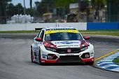 #73 LA Honda World Racing Honda Civic TCR, TCR: Mike LaMarra, Mathew Pombo