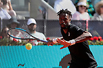 Gael Monfils during the Mutua Madrid Open Masters match on day 7 at Caja Magica in Madrid, Spain. May 09, 2019. (ALTERPHOTOS/A. Perez Meca)