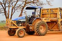 KENYA, County Kakamega, Mumia,  sugarcane plantation and sugar factory of Mumia Sugar Company Ltd. / KENIA, County Kakamega, Mumia, Zuckerrohr Plantage der Mumia Sugar Company Limited