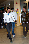 MADRID (08/11/2010).- Real Madrid players recieve new cars from Audi, team Sponsor. Angel Di Maria, Fernando Gago and Sergio Canales...Photo: Cesar Cebolla / ALFAQUI