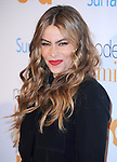 Westwood , California - October 28 :  Sofia Vergara <br /> <br />  arrives at The USA Network's Modern Family Fan Appreciation Day held at Westwood Village Theatres in Westwood, California on October 28,2012                                                                               © 2013 Hollywood Press Agency