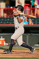 Trenton Thunder Right Fielder Daniel Brewer (8) during a game vs. the Erie Seawolves at Jerry Uht Park in Erie, Pennsylvania;  June 23, 2010.   Trenton defeated Erie 12-7  Photo By Mike Janes/Four Seam Images