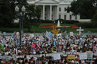 Over 300,000 took part in anit-war  demonstrations on September 25, 2005 in Washinton, DC.