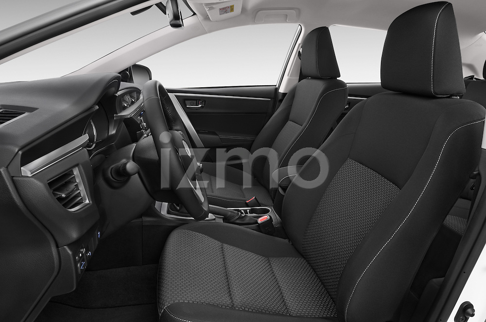 Front seat view of a 2014 Toyota Corolla Comfort 4 Door Sedan 2WD Front Seat car photos