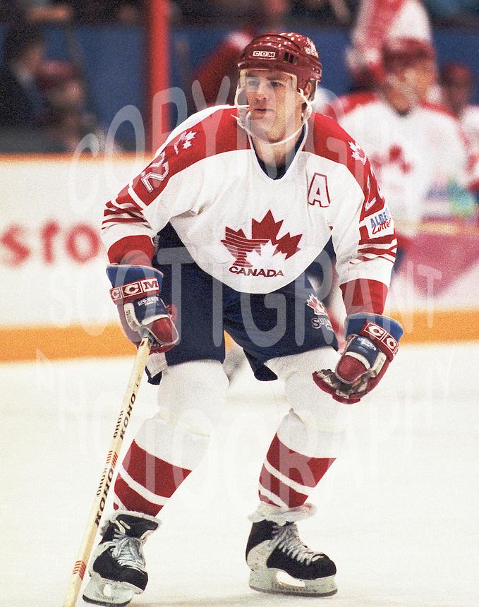 Randy Smith Team Canada 1987. Photo copyright F. Scott Grant