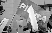 01.2010 Santiago de chile (Chile) 01.2010 Santiago (Chile)<br /> <br /> Election of president Pinera .<br /> <br /> Election du président Pinera.