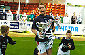 07/05/2005         Copyright Pic : James Stewart.File Name : jspa06_falkirk_v_qots.DANIEL MCBREEN CELEBRATES.Payments to :.James Stewart Photo Agency 19 Carronlea Drive, Falkirk. FK2 8DN      Vat Reg No. 607 6932 25.Office     : +44 (0)1324 570906     .Mobile   : +44 (0)7721 416997.Fax         : +44 (0)1324 570906.E-mail  :  jim@jspa.co.uk.If you require further information then contact Jim Stewart on any of the numbers above.........A