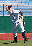 March 7, 2012:   Nevada Wolf Pack thrid basemen Austin Byler makes the play against the San Francisco State Gators during  their NCAA baseball game played at Peccole Park on Wednesday afternoon in Reno, Nevada.