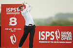 Tim Sluiter drives at the 8th during the 2nd round of the ISPS Handa Wales Open 2012....01.06.12.©Steve Pope