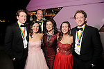 """From left: Lane Ware, Anna Johnson, Jim Ware, Dancie Ware, Sarah Johnson and Carter Ware at the San Luis Salute """"Space Pirates"""" VIP reception Friday February 24,2017. (Dave Rossman Photo)"""