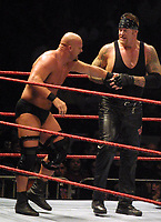 Undertaker Stone Cold Steve Austin 2002                                                     By John Barrett/PHOTOlink