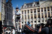 World Champion Alejandro Valverde (ESP/Movistar)<br /> <br /> Official 106th Tour de France 2019 Teams Presentation at the Central Square (Grote Markt) in Brussels (Belgium)<br /> <br /> ©kramon