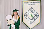 Durham, Mia  received their diploma at Bryan Station High school on  Thursday June 4, 2020  in Lexington, Ky. Photo by Mark Mahan Mahan Multimedia