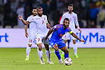 Pronay Halder of India (R) in action against Abdulwahab Ali Alsafi of Bahrain (L) during the AFC Asian Cup UAE 2019 Group A match between India (IND) and Bahrain (BHR) at Sharjah Stadium on 14 January 2019 in Sharjah, United Arab Emirates. Photo by Marcio Rodrigo Machado / Power Sport Images